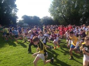 Cross country running 2015