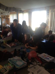 Working with TY students on our BT Young Scientist project