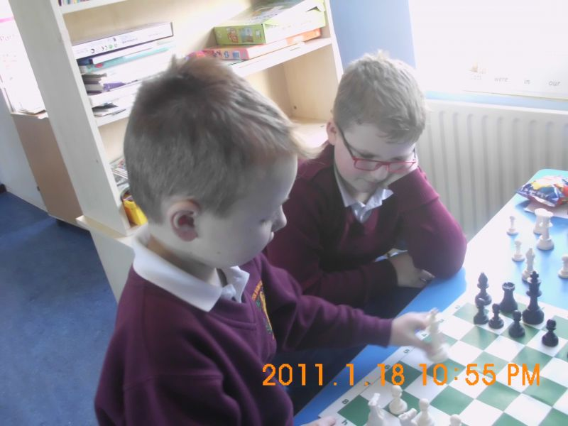 Learning how to play chess