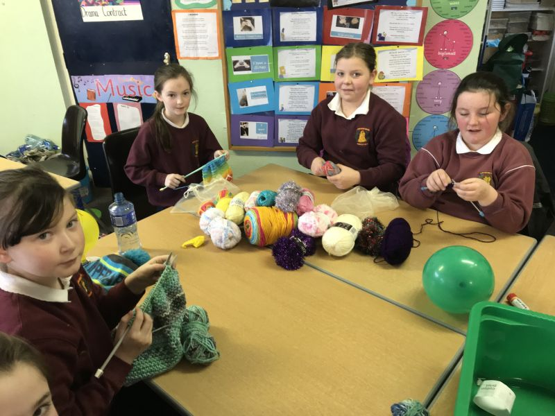 Knitting Circle with Mrs.Slattery