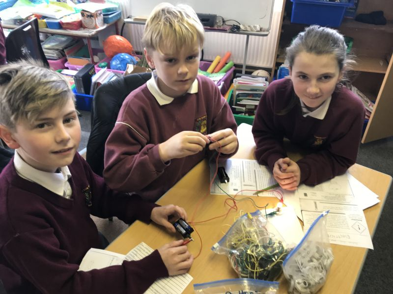 Science station teaching in fourth class