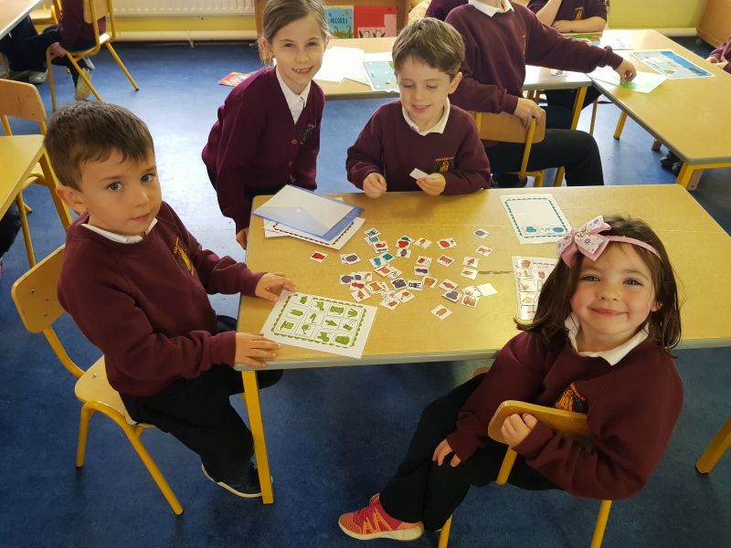 Maths Maths and More Maths in Junior Infants