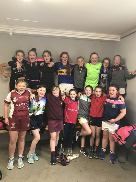 U 13 Girls Football Blitz