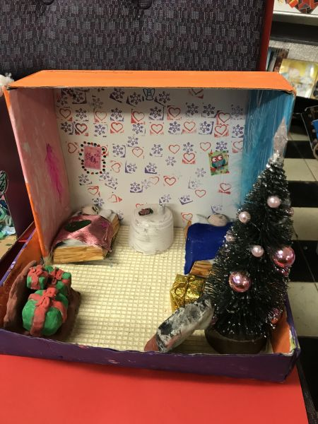 Dioramas by 4th class