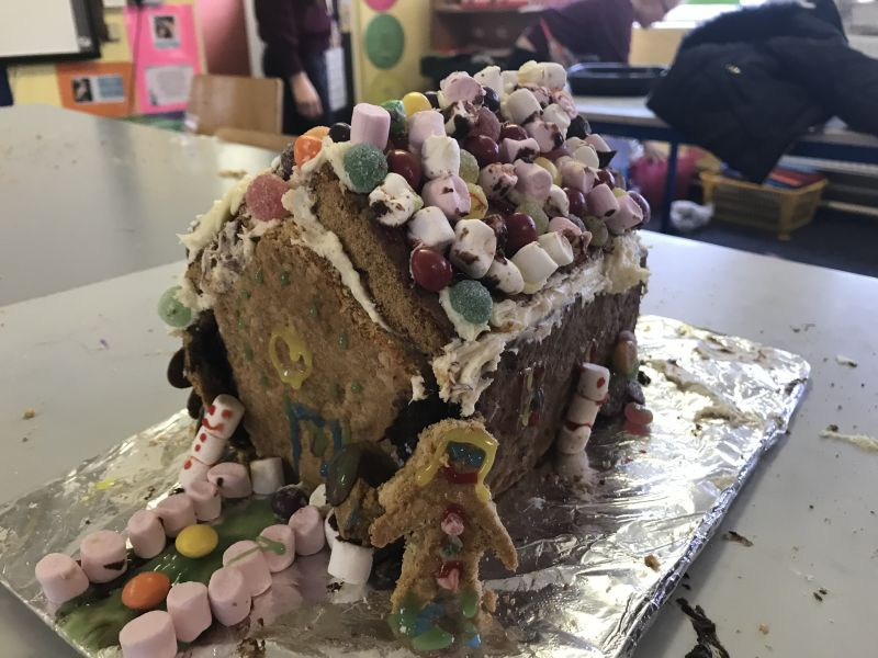 Gingerbread Houses by 4th class