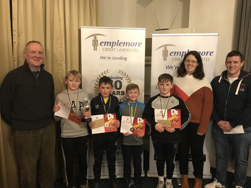 Credit Union Quiz Success for Scoil Naomh Cualán