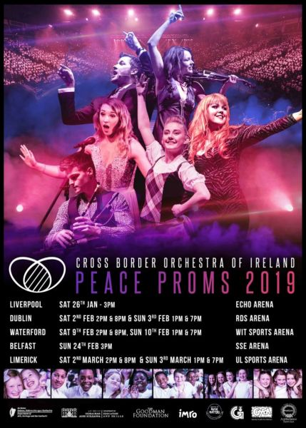 Peace Proms, Sunday 3rd March