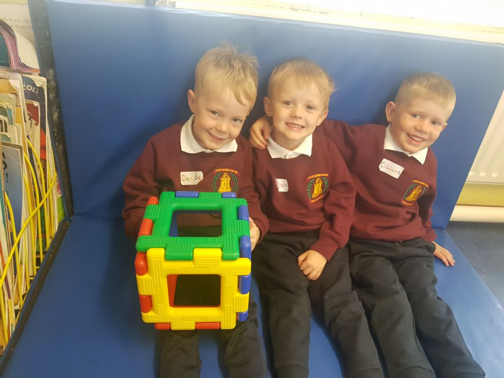 First Day Fun in Junior Infants