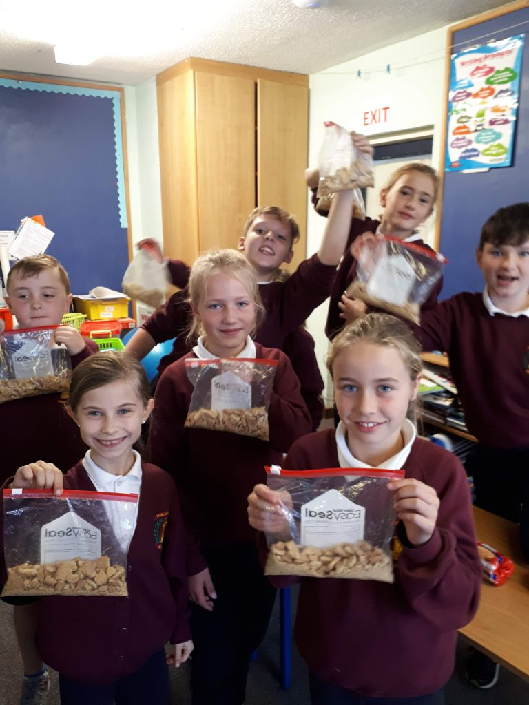 Baking in 3rd and 4th Class