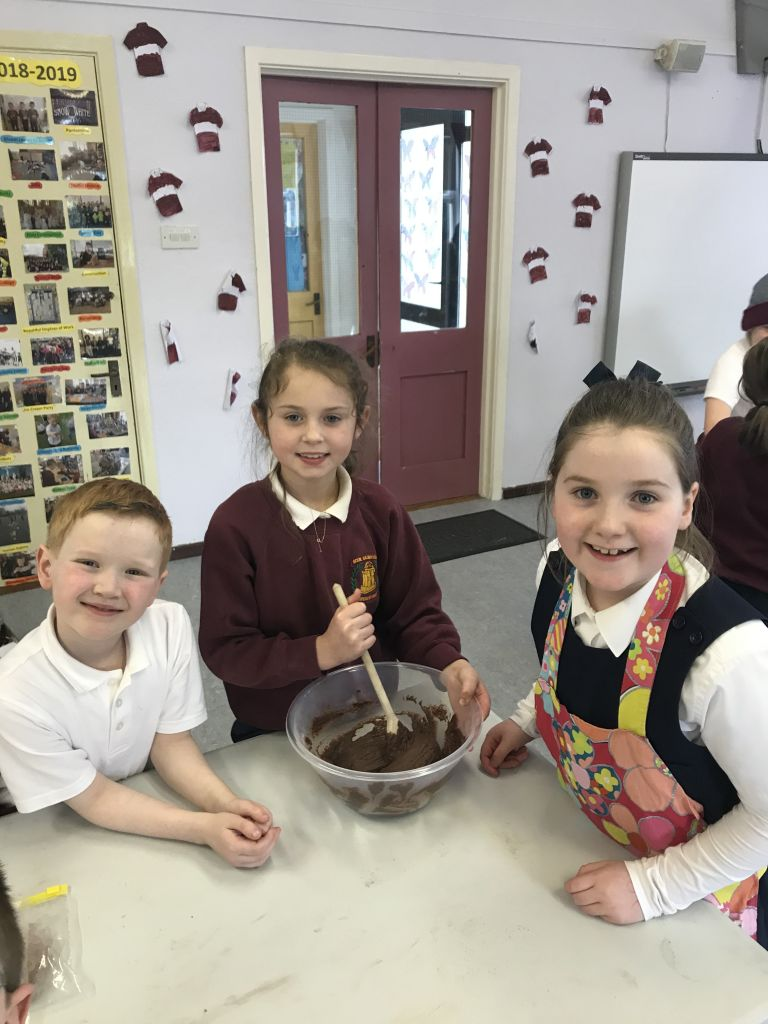 Baking in first and second class