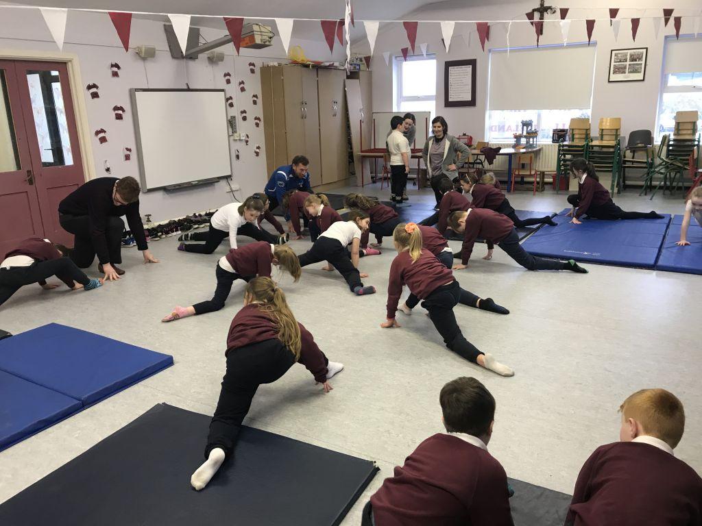 Gymnastics with Rody