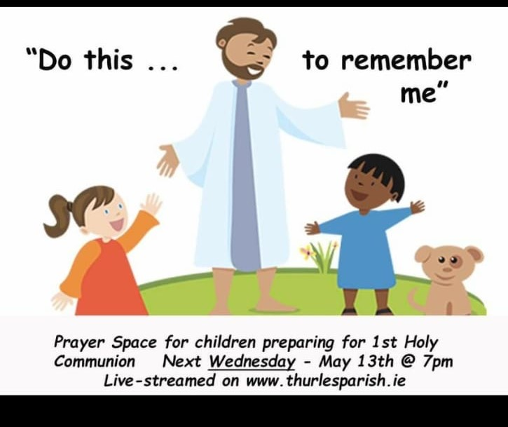 Prayer space for First Holy Communion Children