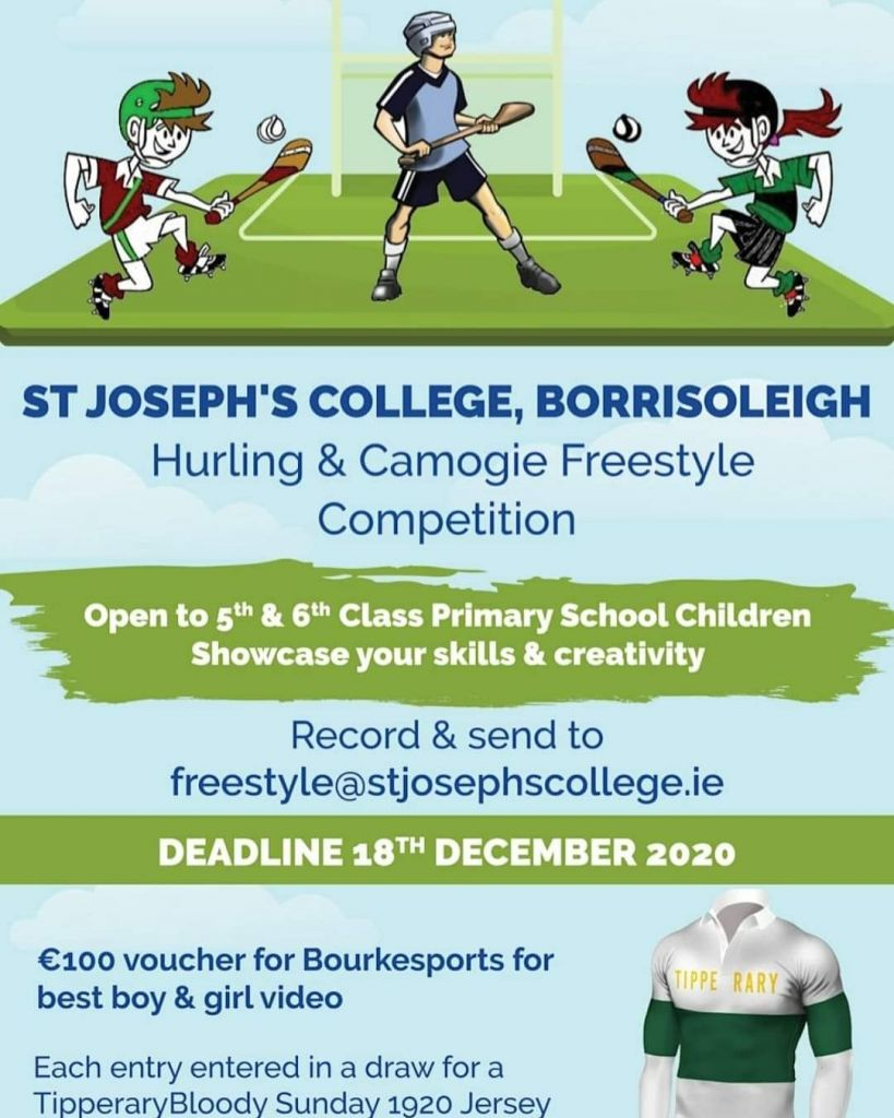 Hurling/ Camogie skills competition
