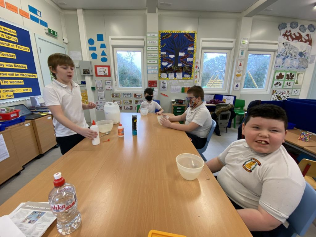 Great Fun Making Slime in Le Chéile 1