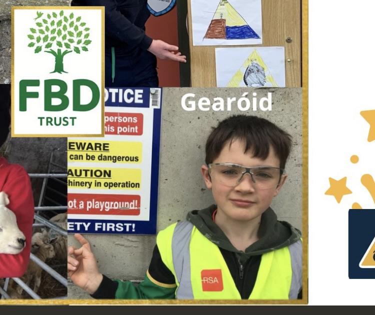 Gearóid, The Agri Aware Regional Champion
